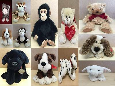 £9.99 • Buy Keel Cuddly Animals Soft Toys And Baby Comforters