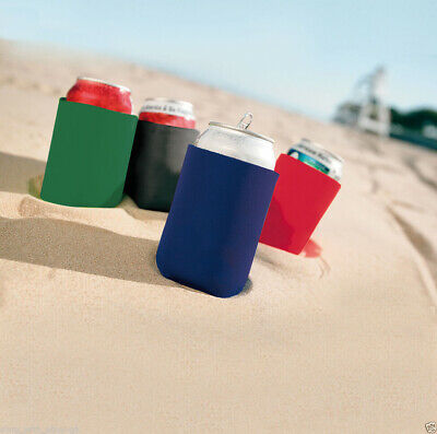 £6.99 • Buy 10 X KOOZIE™ Can Cooler Quality Chill Insulated Drinks Holder Summer Beer Sun UK