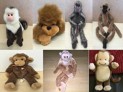 £9.99 • Buy Monkeys Chimps Apes Monkey Various Makes Of Cuddly Soft Toy