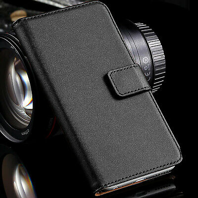 AU7.99 • Buy Genuine Leather Wallet Case Flip Cover For Apple IPhone 11 Pro Max XR XS 8 SE 2