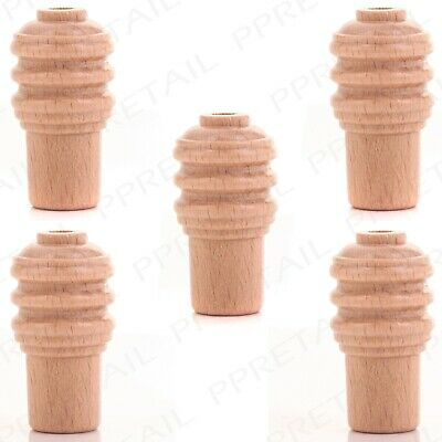 £4.25 • Buy ACORN LIGHT PULL Weight 5 Pack Wooden Roman Blind Cord Toggle String Switch End