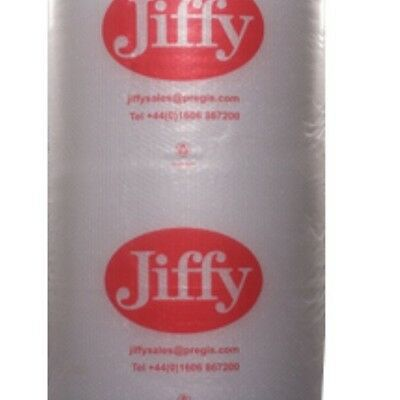 £15.72 • Buy 1 ROLL JIFFY BUBBLE WRAP LARGE BUBBLES 500 MM X 50 M + FREE 24 H DELIVERY
