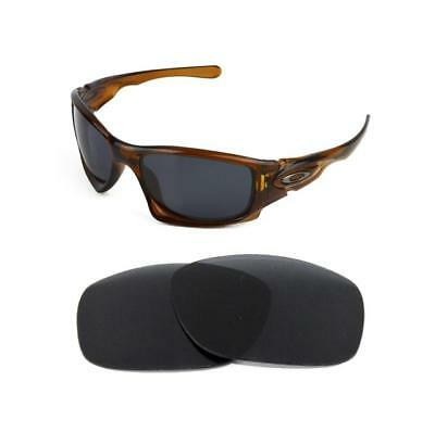 New Polarized Replacement Black Lens For Oakley Ten Sunglasses • 20£