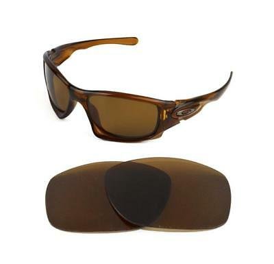 New Polarized Replacement Bronze Lens For Oakley Ten Sunglasses • 20£