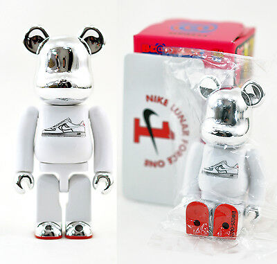 $189.99 • Buy RaRe~ Japan Medicom Series 25 Bearbrick Be@rbrick SECRET 1:192 Nike Lunar Force
