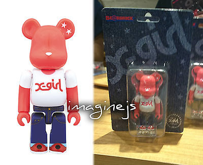 $44.99 • Buy Japan Medicom X X-GIRL 100% Bearbrick Be@rbrick REACHING 20th Figure