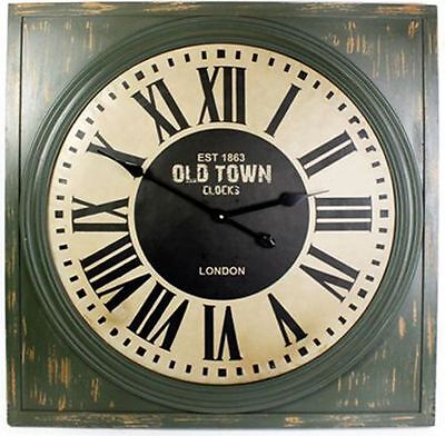 £57.99 • Buy Square Wall Clock ~ Est 1863 Old Town Clocks London