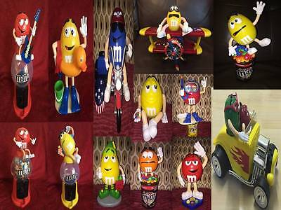 M&M Sweet Candy Dispenser Various Soft Toys & Figures • 24.99£