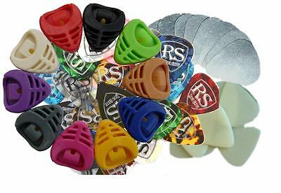 $ CDN5.26 • Buy Assorted NEW GUITAR PICKS Electric Or Acoustic GUITAR PLECTRUMS By RockSkool