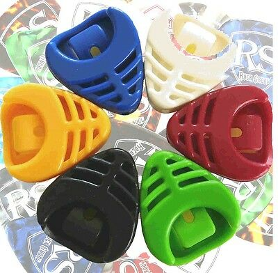 $ CDN7.03 • Buy 30 X Genuine RockSkool Plectrums Electric OR Acoustic Guitar Picks + FREE HOLDER
