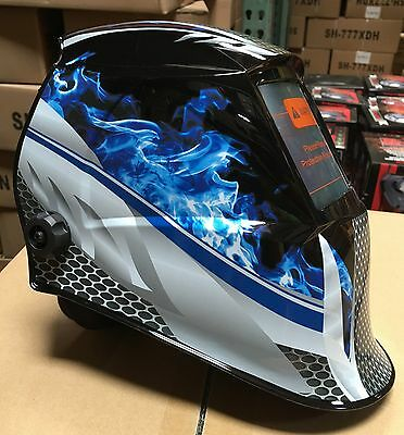 $ CDN65.68 • Buy FMTP Solar Auto Darkening Shade 6 To 13 Welding Helmet 4 Sensors $$$$