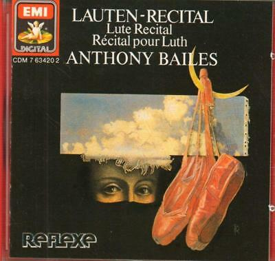 Bailes(CD Album)Lute Recital-New • 18.79£