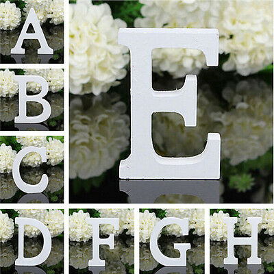 £2.58 • Buy Vintage Large Wooden Block Freestanding Personalised A-Z Alphabet Letters Word