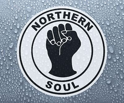 Northern Soul #1 - Printed Self-adhesive Car Bike Window Sticker • 1.60£