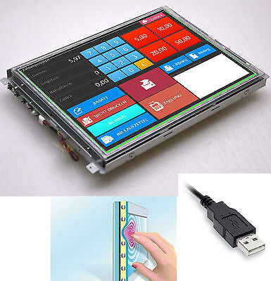 £101.40 • Buy 38cm 15   USB + RS-232 ELO Touchscreen Display Canvys PV760T For Windows XP 7 8