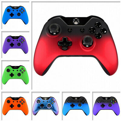 $11.99 • Buy Soft Touch Front  Repair Shell Faceplate Side Rails For Xbox One Controller