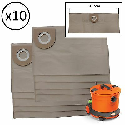 10 Large Capacity Dust Bags For Vax VCC-08 Commercial Vacuum Cleaner Hoover  • 11.52£