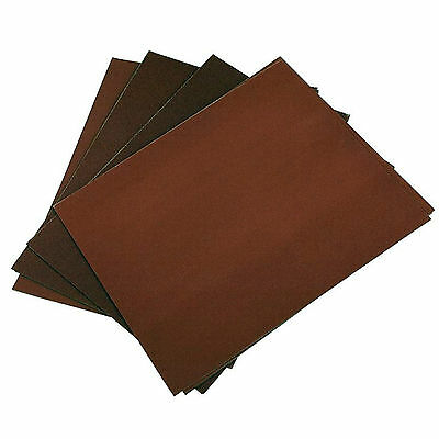 £3.29 • Buy New 12 Pack Of Wet And Dry Emery Sheet Sandpaper Coarse Fine Medium Extra Fine