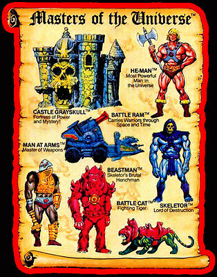 $18.99 • Buy 80's Classic Cartoon He-Man Masters Of The Universe Toy Art Custom Tee Any Size