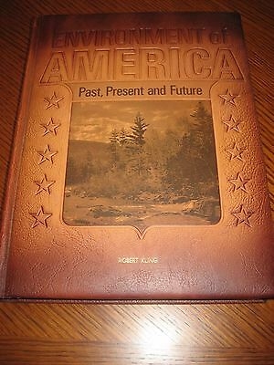 $25.55 • Buy ENVIRONMENT OF AMERICA Past, Present, And Future 1971 Leather Bound