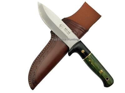 AU200.99 • Buy J&V Adventure Knives Puma Utility Knife Green Cocobolo Steel Fixed Blade Hunting