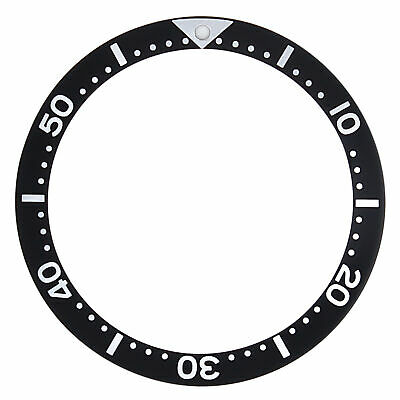 $ CDN30.77 • Buy Bezel Insert For Seiko 7002,6309,skx007k2,7s26-0020 Diver Automatic Watch Black