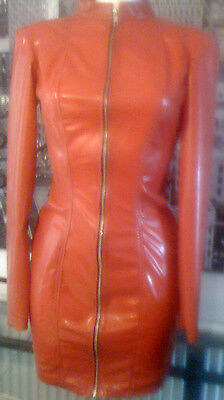 £84.99 • Buy The Federation Rubber Latex Sleeved  Dress Brand New Cross Dress