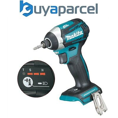 Makita DTD154Z 18v LXT Lithium Brushless Cordless 3 Stage Impact Driver T-MODE • 139.99£