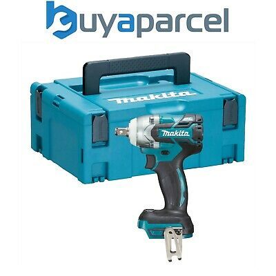 Makita DTW285Z 18v LXT Brushless Impact Wrench 1/2  Drive Bare + Makpac Case • 164.89£