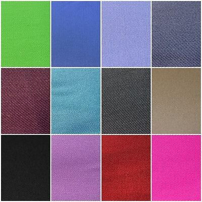 £7.69 • Buy 100% Cotton  Extra Wide Plain Drill Twill Clothing Craft Upholstery Fabric