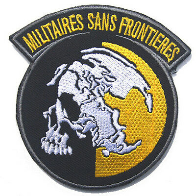 AU10.63 • Buy Metal Gear Solid Mgs Peace Walker Militaires Sans Frontieres Embroidered Patch