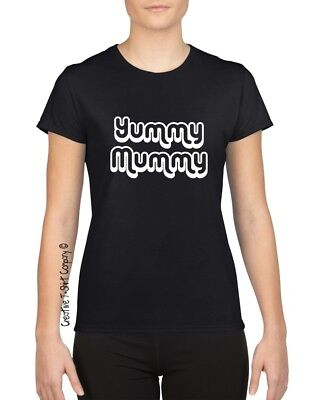 Funny  Yummy Mummy  T-Shirt, Great Xmas, Birthday Or Mothers Day Gift, Size S-XL • 9.94£