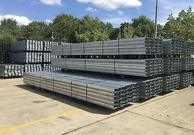 5m Long Galvanised Steel Fence Posts, Fencing Post, Gate Post, Fence Post, Gate • 45£