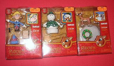 $28.99 • Buy RUDOLPH Red Nosed Reindeer FIGURE SAM Hermey CHRISTMAS RANKIN BASS Misfit Toys