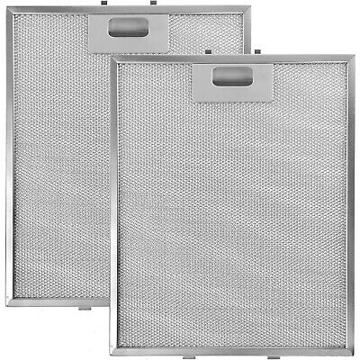 £50.10 • Buy WHIRLPOOL Genuine Cooker Hood Vent Silver Grease Extractor Filter 305 X 265mm X2