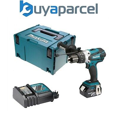 Makita DHP458RF LXT 18v Combi Hammer Drill - 1 Battery - Replaces BHP458 • 177.99£