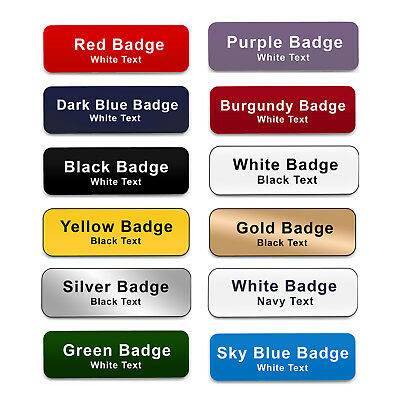 £2.40 • Buy MAGNET Personalised Staff Work Name Badges Midwife Carer Social Worker Domestic