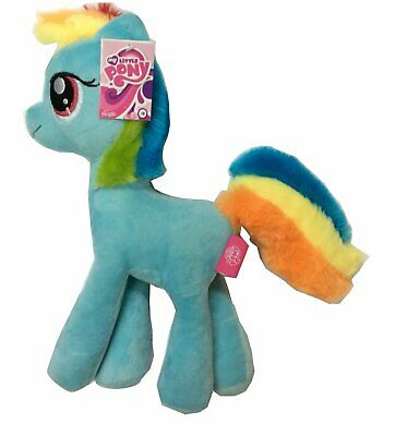 My Little Pony Official Licensed Cuddly Plush - Rainbow Dash - 25cms Tall - NEW • 12.99£