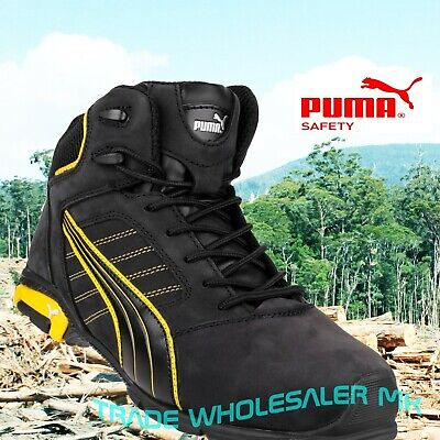 AU169.83 • Buy Puma Amsterdam Safety Trainers S3 SRC Protected Toe & Midsole, Comfort, Work.