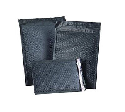 $ CDN69.57 • Buy 5  X 9  Black Color Poly Bubble Mailers Self Seal #00 Qty 100 Free Ship