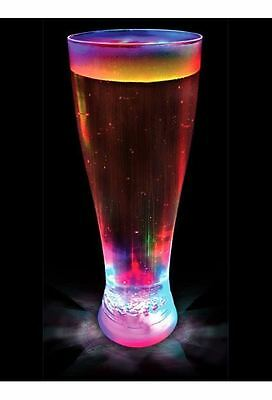 £9.99 • Buy Strobing Light Up Beer Glass Pint Flashing BBQ Xmas Party Gift