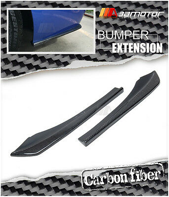 AU399.99 • Buy Carbon Fibre M Tech Rear Bumper Side Extension Fits BMW F30 F31 3-Series M Sport