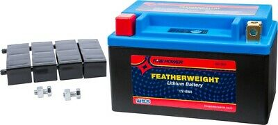 $103.74 • Buy WPS Fire Power HJTX14H-FP-IL Featherweight Lithium Motorcycle Battery