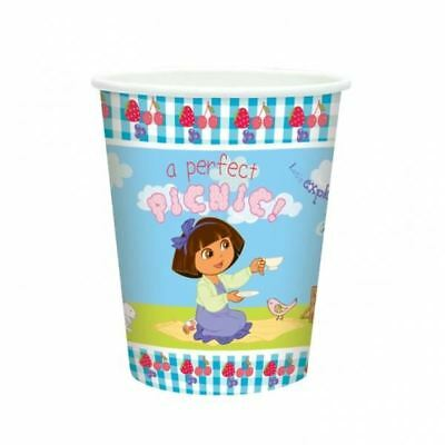 8 Dora The Explorer Party Celebrations Paper Cups Tableware • 5.68£