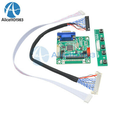 DIY MT6820-B Universal LCD LVDS Driver Controller Board With Cable 17  To 42  • 4.45$
