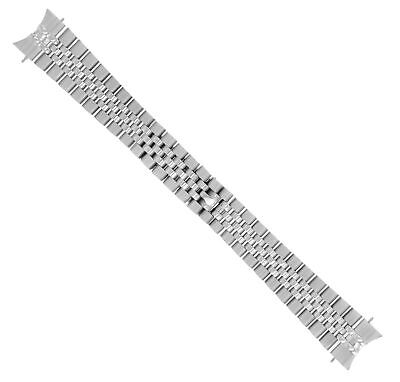 $ CDN80.37 • Buy Jubilee Watch Band Solid Link For Rolex Datejust Hidden Clasp 20mm Heavy S/steel