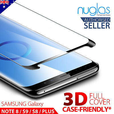 AU7.95 • Buy NUGLAS For Samsung S10 5G S9 S8 Plus Note 10 9 8 Tempered Glass Screen Protector