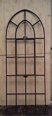 £425 • Buy Gothic Style Arched Cast Iron Window
