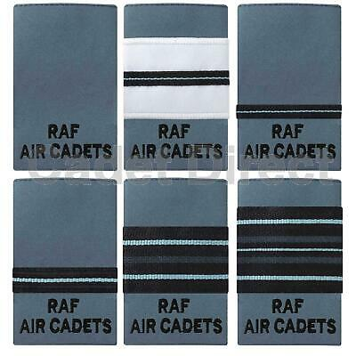 RAF Air Cadets Officers Rank Slides No 2 Dress (Light Blue) • 6.95£