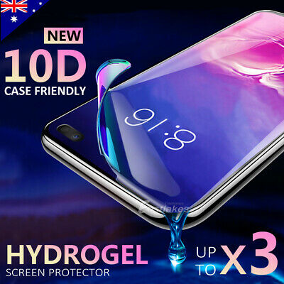 AU6.95 • Buy HYDROGEL Screen Protector For Samsung Galaxy S10 5G S9 S8 Plus Note 10 9 S7 Edge
